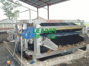 广西宾阳制革厂污泥脱水案例